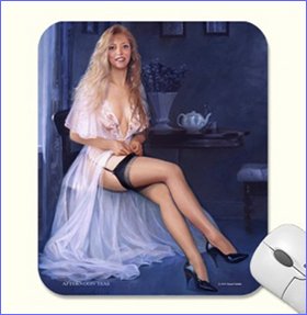 afternoon teas mouse pad