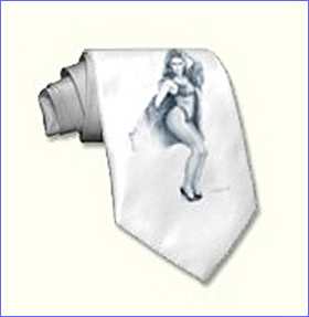 roxy pinup girl neck tie
